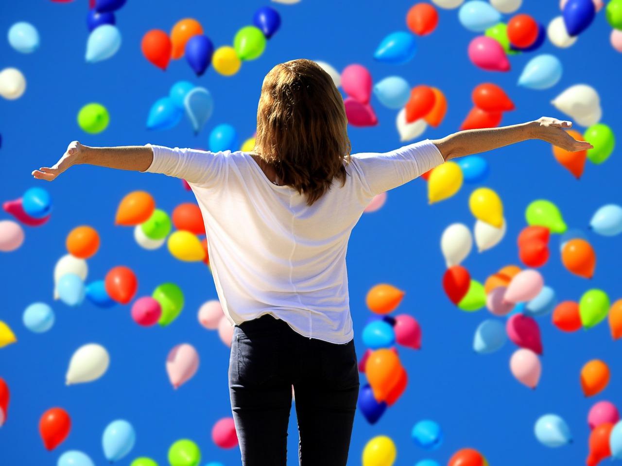 Freude am Leben